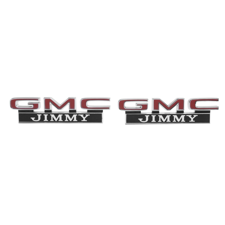 "1971-72 GMC Truck Front Fender Emblem /""GMC JIMMY/"""